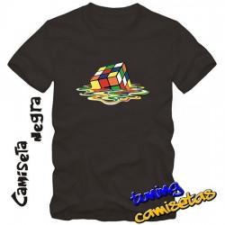Camiseta cubo rubik-...