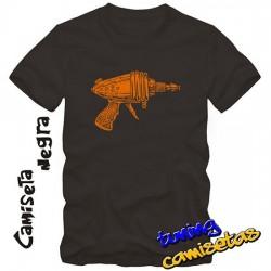 Camiseta Pistola Flahs...
