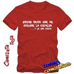 Camiseta Busco chica que me...