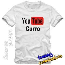 Camiseta you tube curro