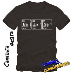 Camiseta Bazinga - Sheldon...