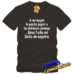 Camiseta A mi mujer le...