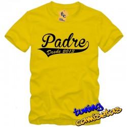 Camiseta Padre desde... – Día del padre