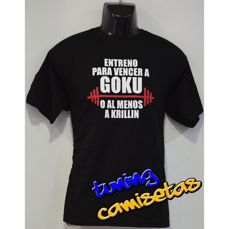Camiseta Entreno para vencer a Goku
