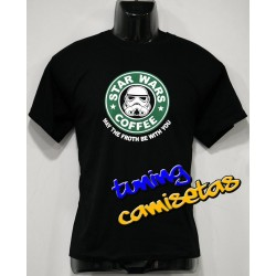 Camiseta Star Wars Cafe