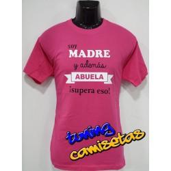 Camiseta Madre y Abuela
