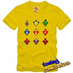 Camiseta Superheroes