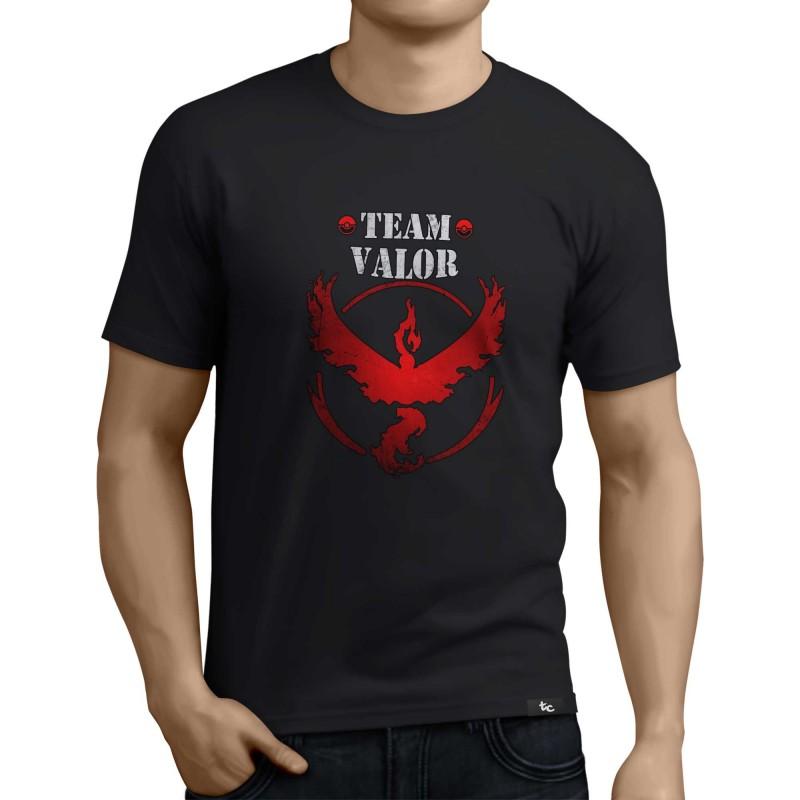 Camiseta Pokemon Go Valor