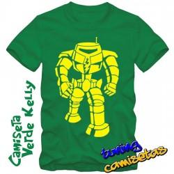 Camiseta Robot - Sheldon...