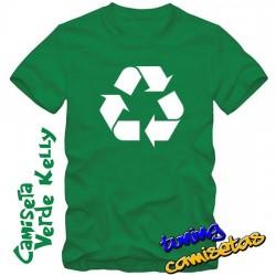Camiseta Reciclaje -...