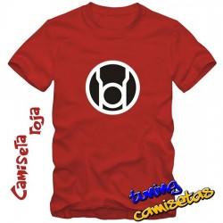 Camiseta Linterna Roja -...