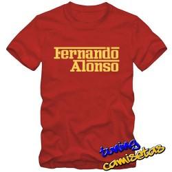 Camiseta Fernando Alonso
