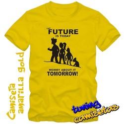 Camiseta Futurama El futuro...